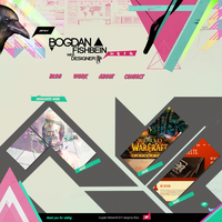 Web Design - Portfolio B.F by Shizoy