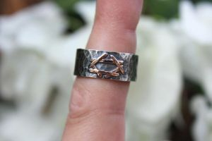 Star of David ring by Geere