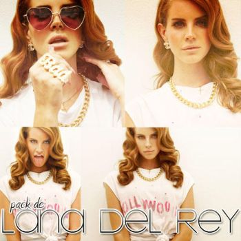 Pack 02 Lana Del Rey by Catchmewithswagg