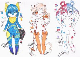 .: Customs and Creamy Cow Adopt:. [Closed] by Chewy-Adopts