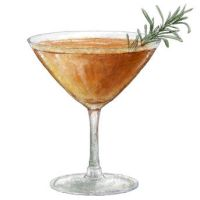 Rosemary Lavender Appletini by torstan