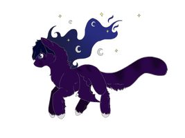 First Nightpony *OFFER TO ADOPT* by CressieCake
