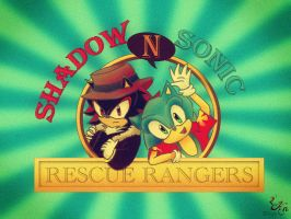 Sh-sh-sh-shadow 'n Sonic by 2knight