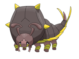 #27 Seraton by Smiley-Fakemon