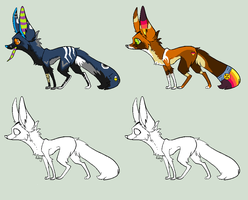 Fennec Fox Auction by Sapphira-Page