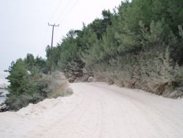Road to the Marble Beach by kate44