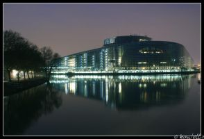 Parlament Europeen by kantellis