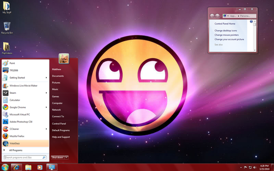 Epic Theme for Windows 7 by Winodws-Vista-Roblox
