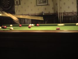 Pool in action by WereX