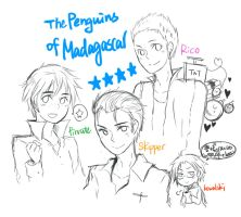 The Penguins of Madagascar by heylia13