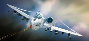 A-10 Tankbuster by rOEN911