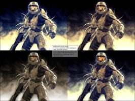 Halo 3 Abstract Wallpaper Pack by Pokehkins