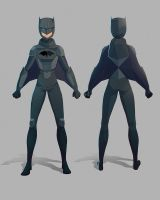 BATGURL Redesign by dionbello