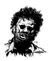 LEATHERFACE by mister-bones