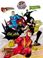 Crime Syndicate of America by supermayne