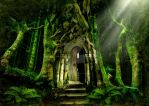 The Emerald Forest by ArwensGrace
