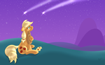 Shooting Stars Wallpaper by RatofDrawn