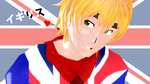 MMD England distribution by SophieNyan