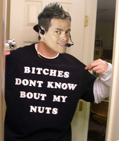 Vince Offer's Nuts Tee by Spartist95