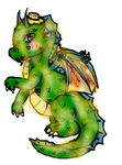 Butters the Butter Dragon by Illeh-Monster12
