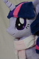 Singing Winter Wrap Up Twilight Sparkle Close Up by makeshiftwings30