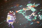 Splatoon Fingerpainting by ChozoBoy