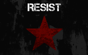 Resist Wallpaper by BullMoose1912