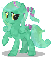 Marina The Crystal Pony  by MLP-Scribbles