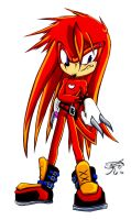 My version of Future Knuckles by MagikPantz