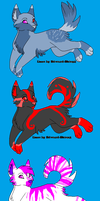 Canine Adopts #2 5 each [OPEN] by Wyeth-Kitty