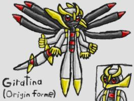 Mobian Giratina(Origin Forme) by SurgeCraft