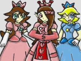 :gift: Lora, Girly Daisy, and Tomboy Peach by SurgeCraft