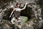 Tomb Raider 2013 - Hunter dirty outfit 05 by Laragwen
