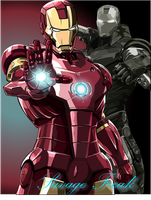 ironman warmachine by savagefreakk