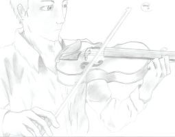 A Violinist by FMA5