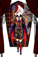 Adoptable11:Midnight Circus $10 (Sold) by acewalker04