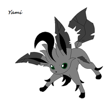 Yami the leafeon by angle243