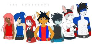 Hiro and Friends (not my art) by kdrj4402