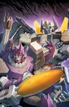 TF Dark Cybertron #5 cover colors by khaamar