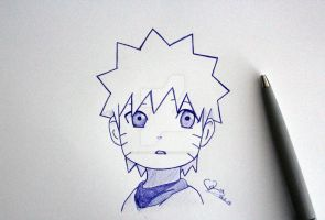Naruto sketch by ViivaVanity