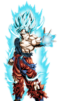 Goku Super Saiyan God Super Saiyan DBXV by ArmorKingTV21