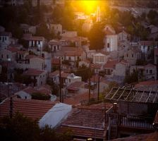 evening in Lofou by photoport