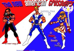 The New American Crusaders by TreStyles