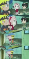 Narusaku under the umbrella - Lee episode by MARSHALLSTAR