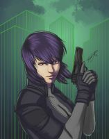 Motoko by FrozenSceptre