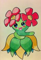 Bellossom by RedDeadRAVAGE