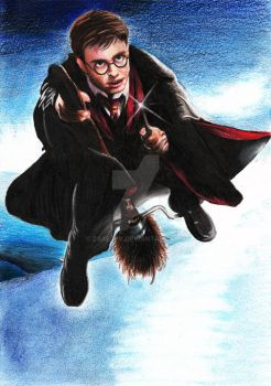 Harry Potter by zarejpv