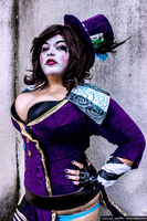 Were all mad here- Mad Moxxi Cosplay by AlyChuCosplay