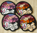 FOR SALE: Shrine of Inari patches by goiku