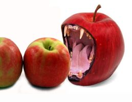 Monster Apple by StCoraline